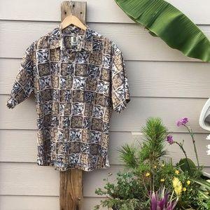 🐟🌺Authentic Hawaiian Aloha Shirt 🌺